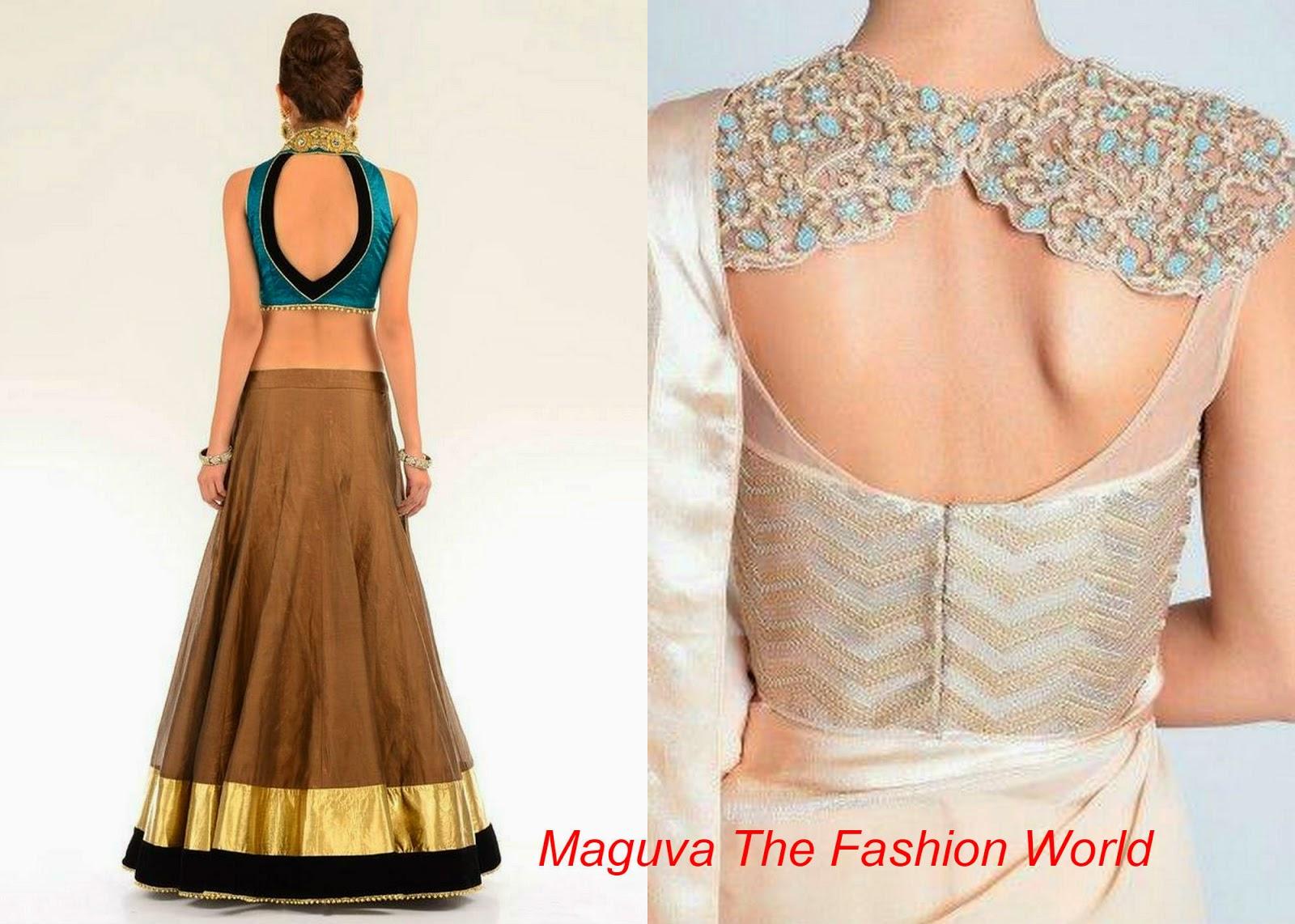 High neck blouse designs maguva the fashion world