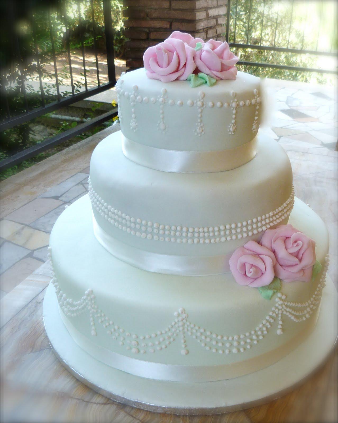wedding cake decorazione perle tiffany da chic cake su