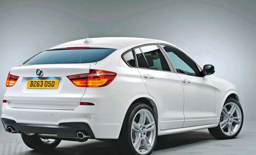 New BMW X4 showed photos of the SUV 2014