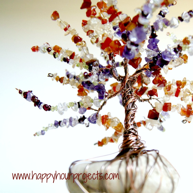 Wire Wrapped Tree Happy Hour Projects
