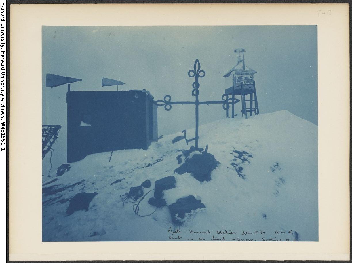 El Misti summit station, 1894