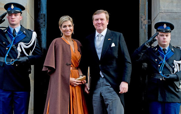 King Willem-Alexander and Queen Maxima hold wensday, January 13th, 2016 the traditional New Year reception for foreign diplomats