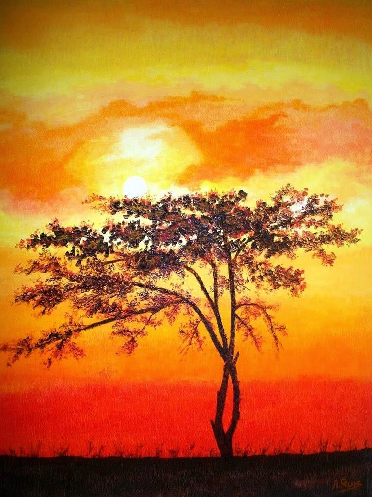 pinturas-africanas-minimalistas-al-oleo