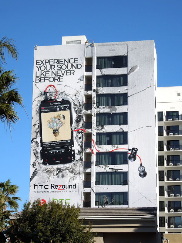 HTC rezound billboard