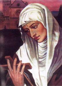 santoralcatólico santa margareth da escócia santa agnes de assis