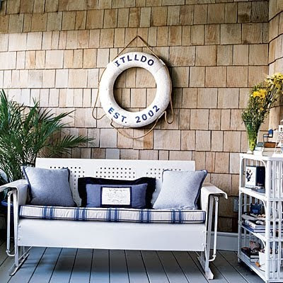 Decorating with Life Preserver Rings Completely Coastal