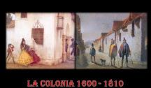 LA COLONIA EN CHILE: CARACTERÍSTICAS