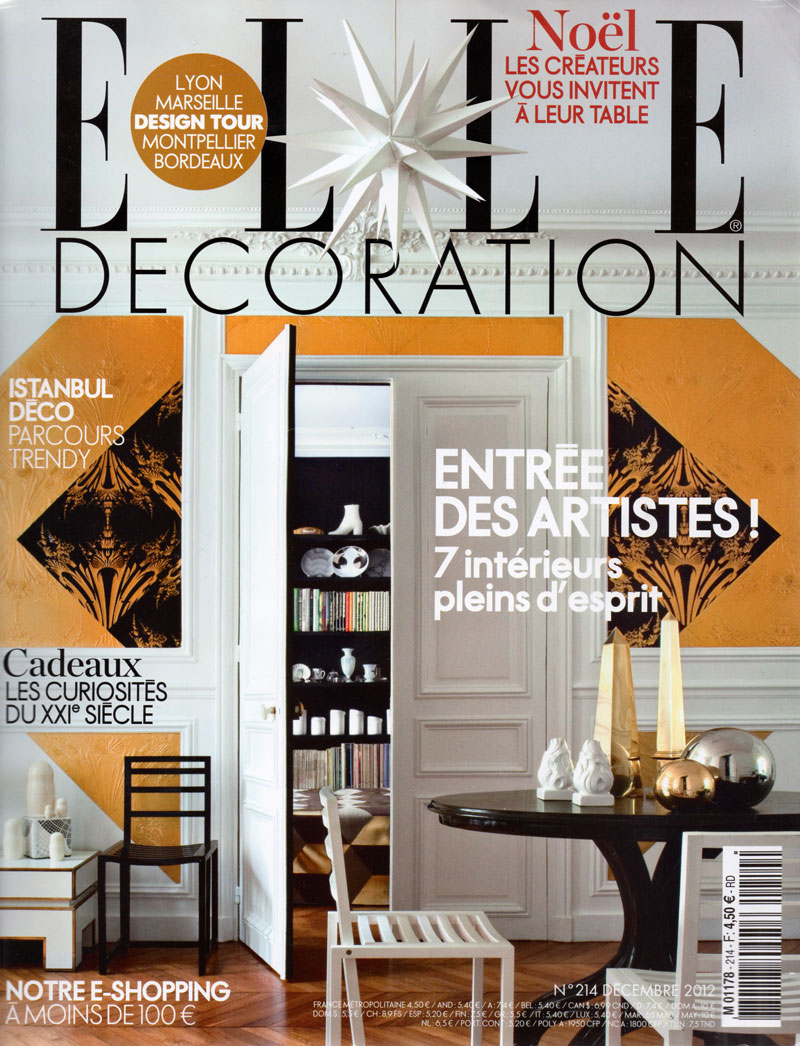 Franck evennou for Elle decoration france