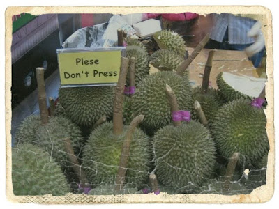 durian bertangkai dilarang picit