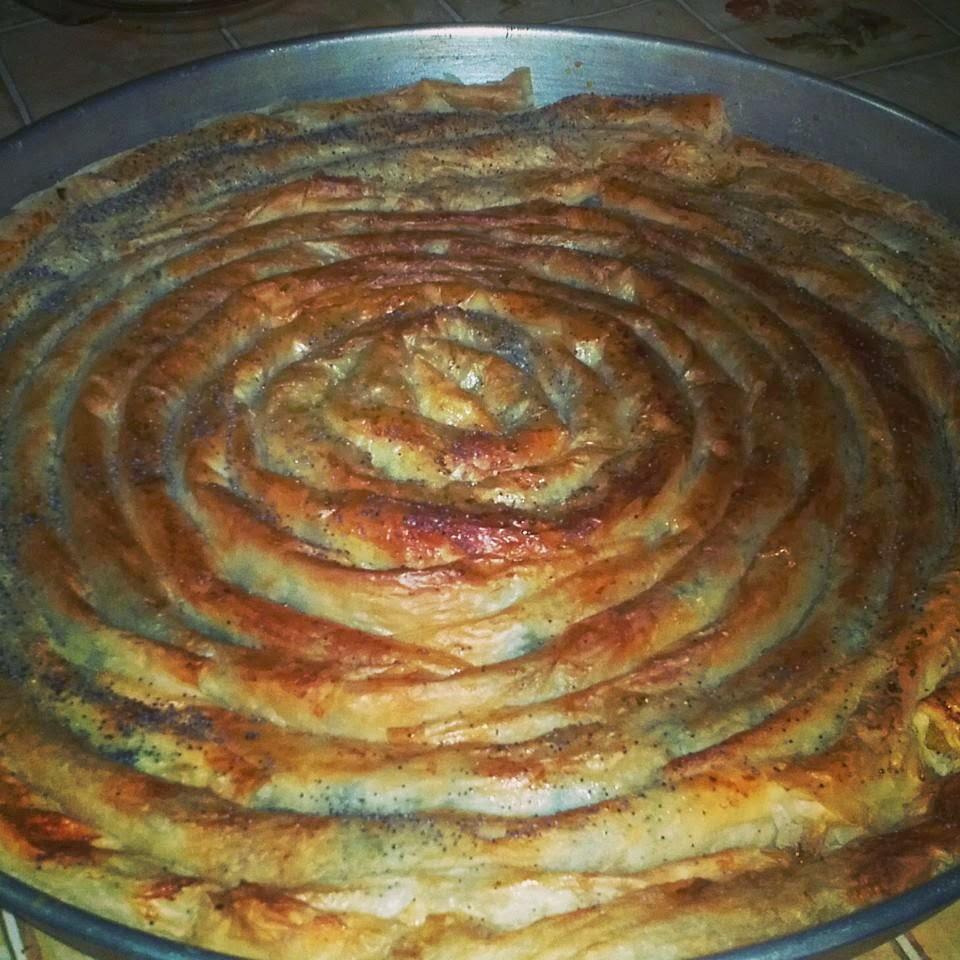 Ispanaklı Sarma Tepsi Böreği Videosu