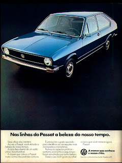 propaganda Passat - 1977; Volkswagen; Volks. vw; reclame de carros anos 70. brazilian advertising cars in the 70. os anos 70. história da década de 70; Brazil in the 70s; propaganda carros anos 70; Oswaldo Hernandez;
