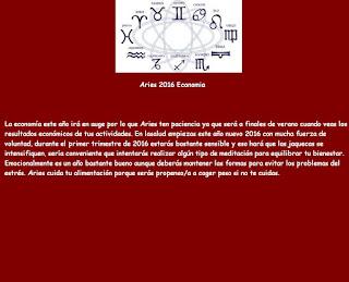 Horoscopo para la Economia Aries 2016
