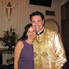 Fr Daniel Medina (Abbot) & his wife, Victoria Sophia Medina