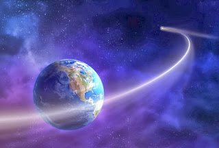 Comet ISON going around Earth - Unity Consciousness