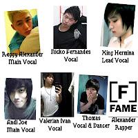 Foto Lengkap Personil Fame Boyband Terbaru