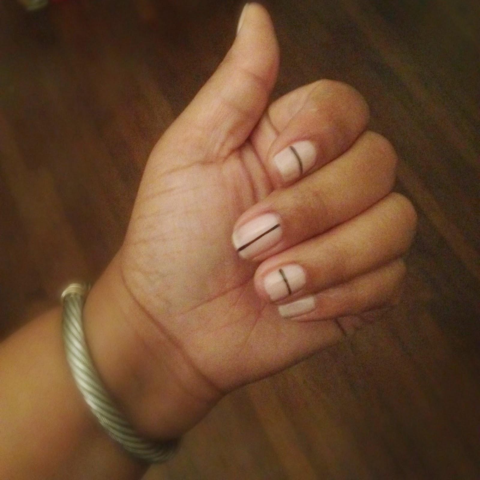 Tibi inspired manicure
