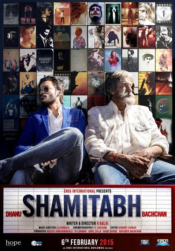 Shamitabh (2015) Poster