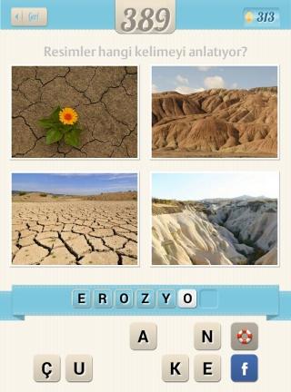 Resimli+Kelime+Bulmaca+çözümleri çatlamış toprak kurak dağlar susuz kuru topraklar ve sarı çiçek
