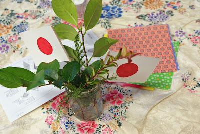 Origami%2Bcentrepiece%2B2 A Tofino Potluck for Japan
