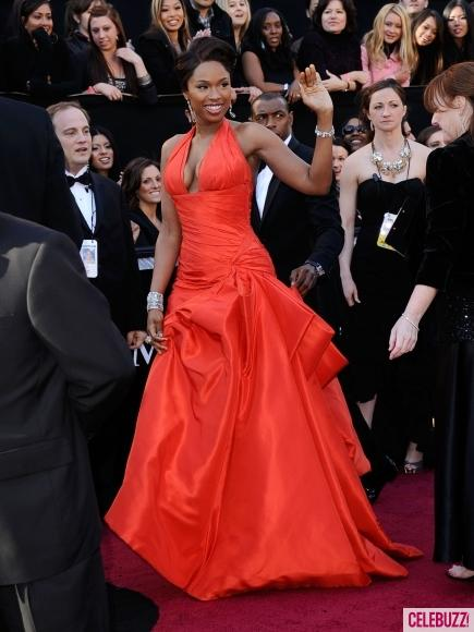 Jennifer Hudson, Oscars 2011, Jennifer Hudson Oscars 2011, HOT FIERY RED, HOT DRESS, RED DRESS