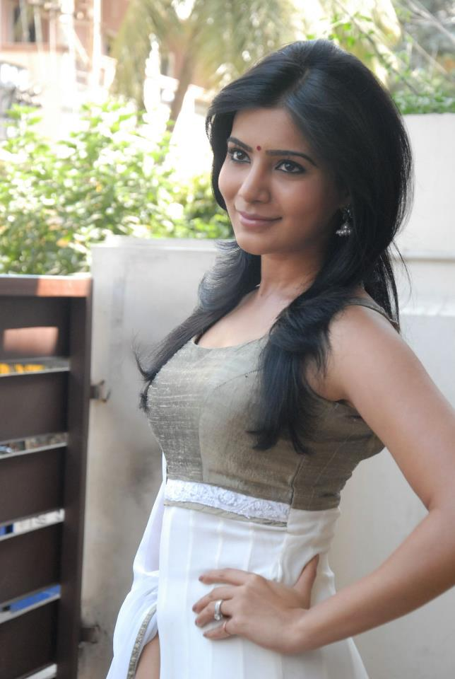 Samantha Photos at SVSC Pressmeet