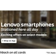 Flipkart Apps Offer: Lenovo Smartphone Offers at Flipkart App with Extra 5% Off on Debit or Credit Cards