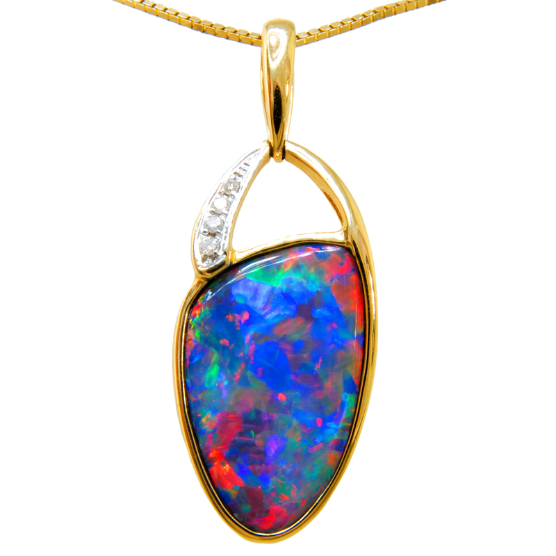 Tallahassee Opal Pendant