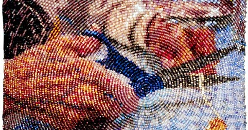 Beadlust Bead Embroidery - How To Bead A Circle