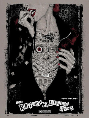 Return of the Living Dead Screen Print by Timothy Pittides & Bottleneck Gallery