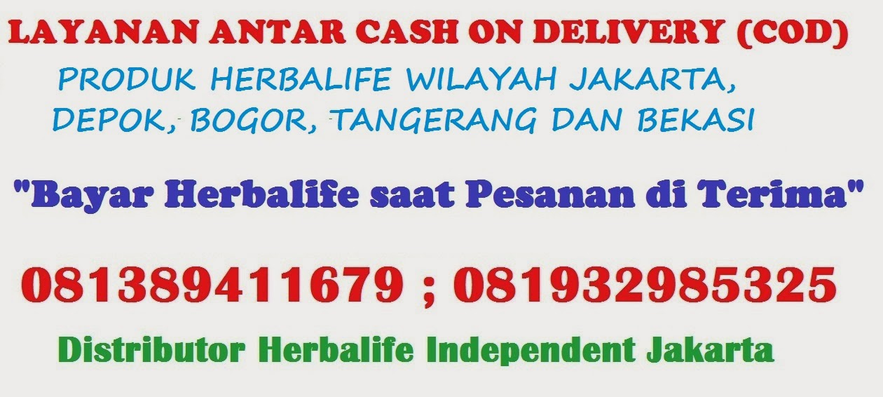 DELIVERY ORDER HERBALIFE
