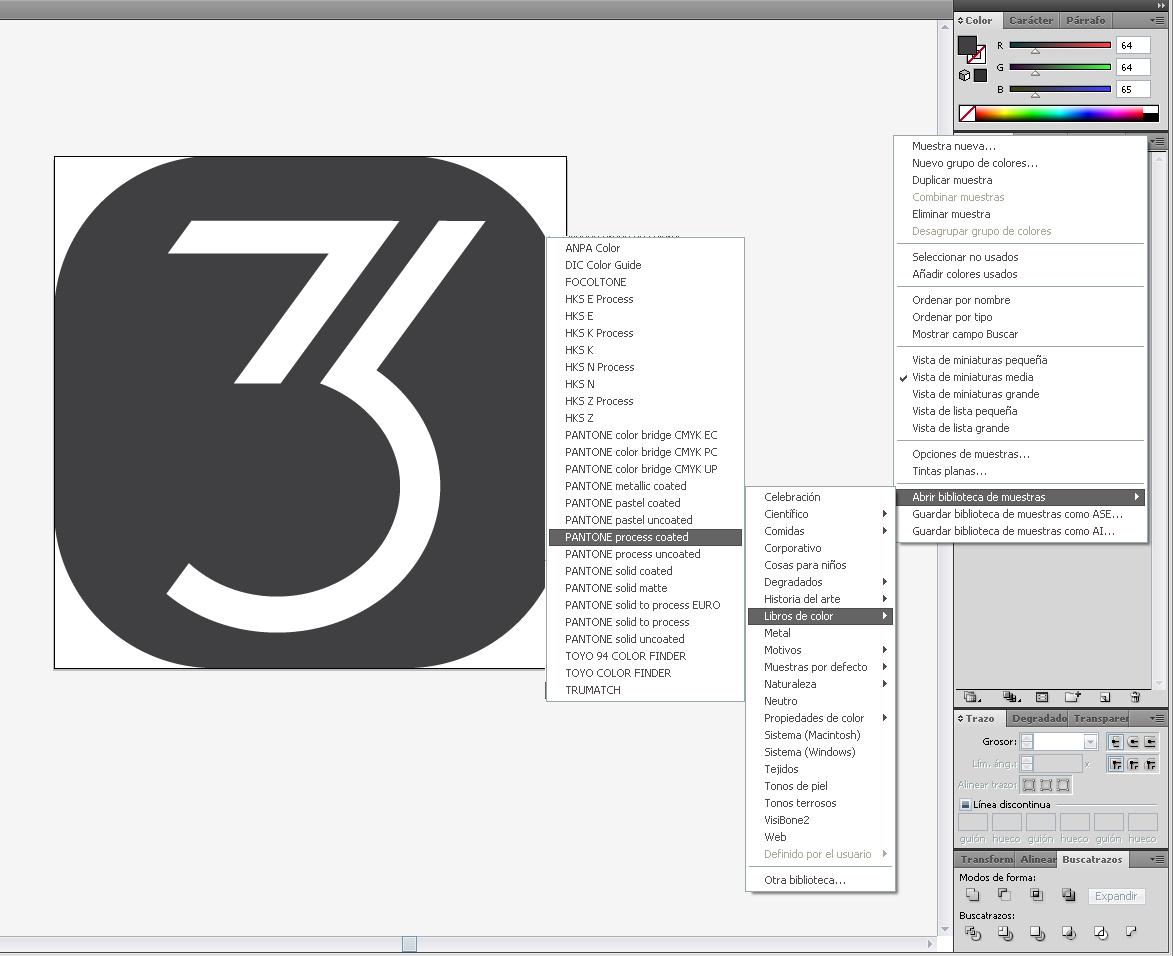 Gradación de Matices en Illustrator CS4