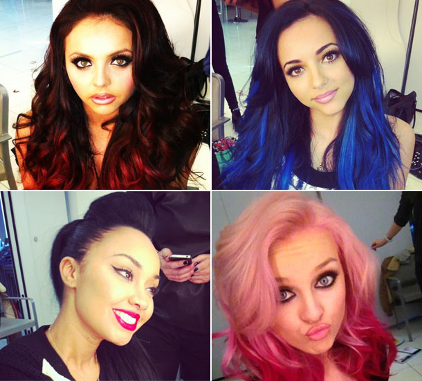 Image Clip In Hair Extensions Candy Hair Little Mix Show It Off