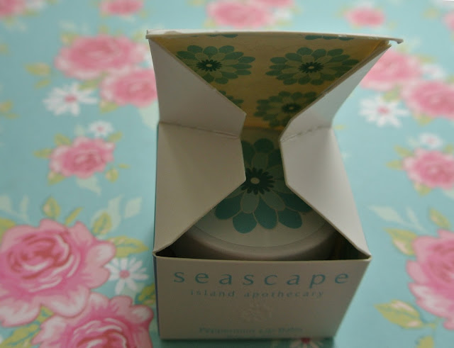 seascape island apothecary peppermint oil lip balm box