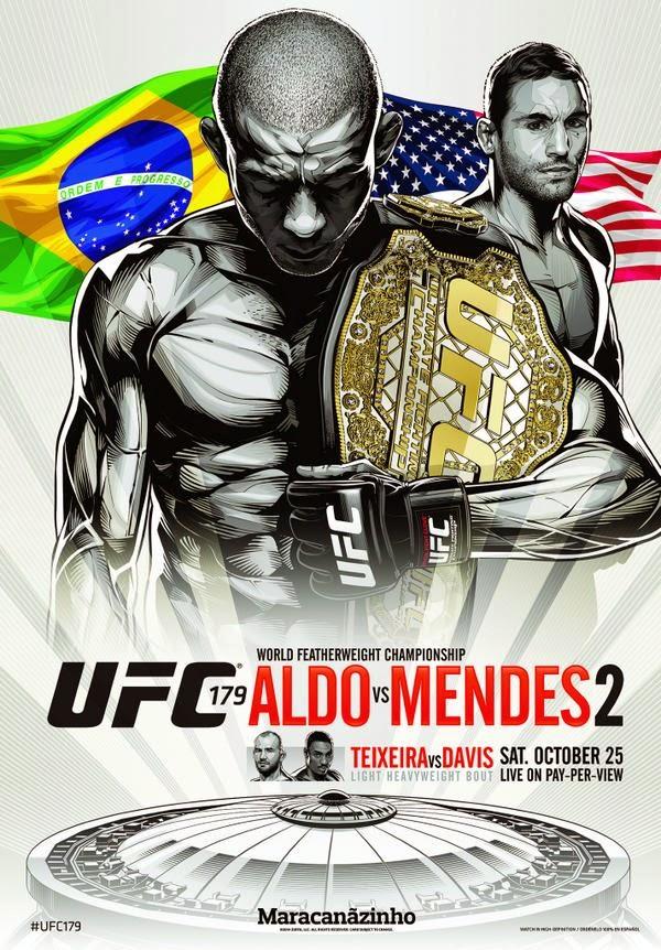 UFC 179 Aldo Mendez Fight Pick Preview Video