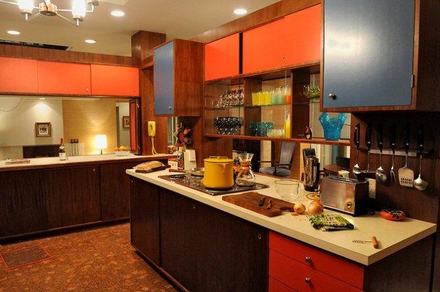 kitchen megan draper house GT FASHION DIARY