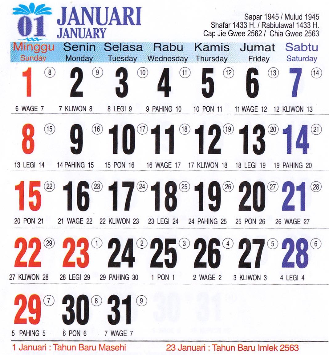 Kalender Islam 2014