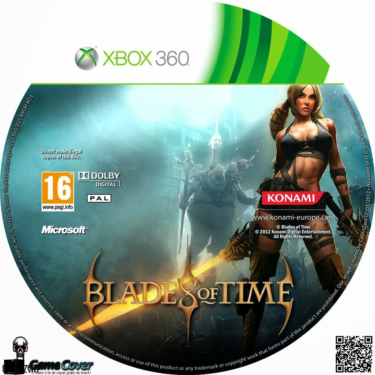 Capa Blades Of Time XBOX 360
