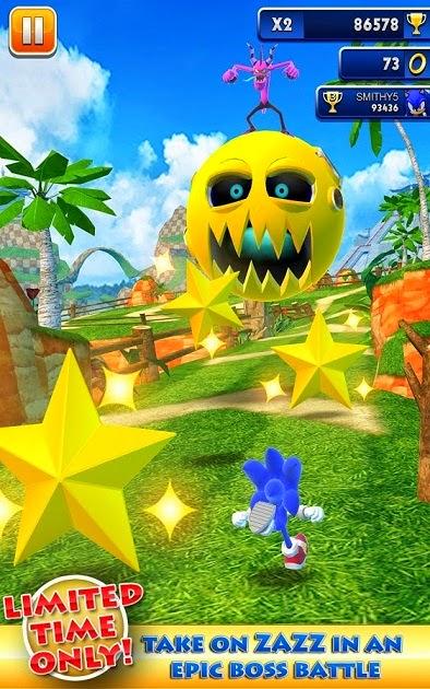 Sonic Dash 1.12.0 MOD APK game