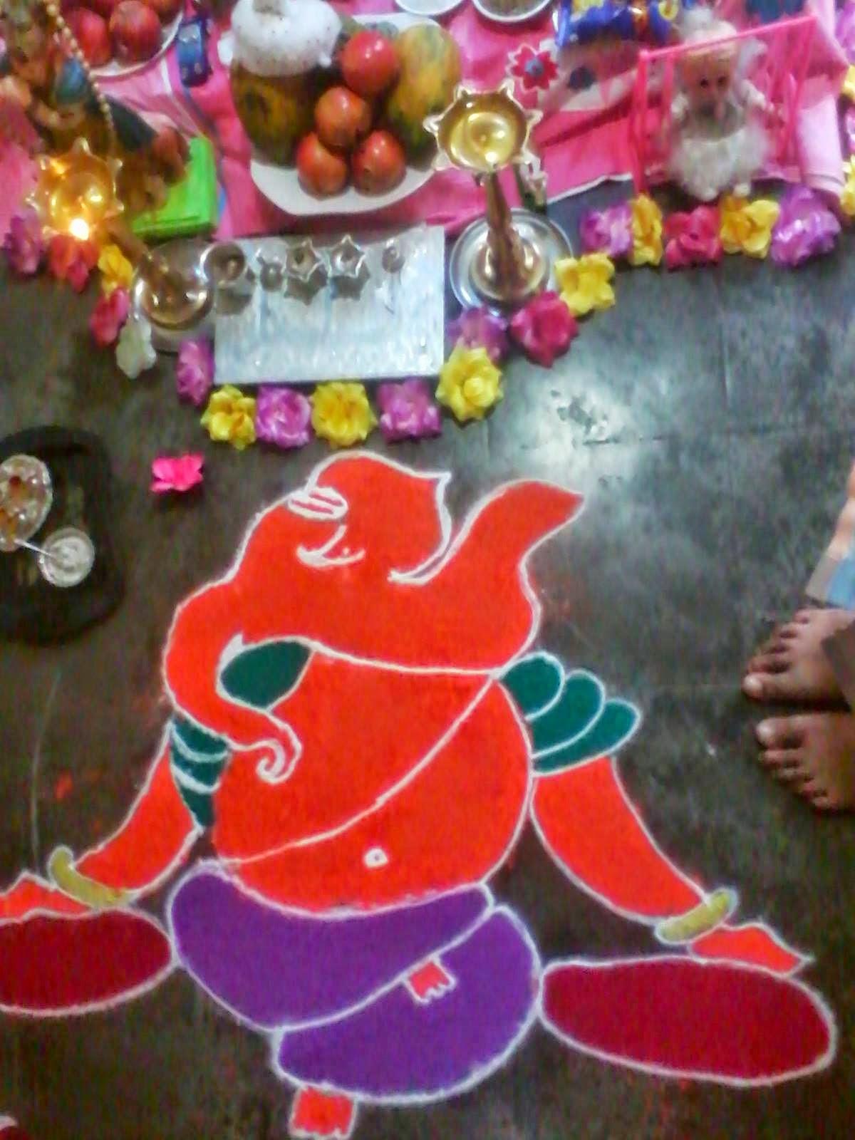Rangoli Diwali Collection 34