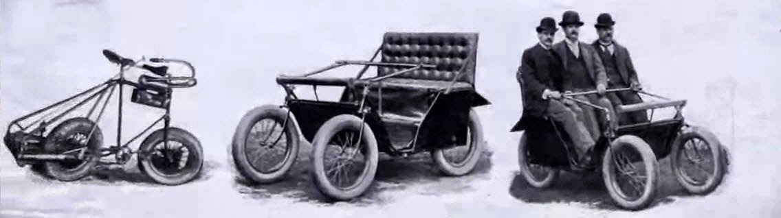The Victoria, a Kane-Pennington Motor quadricycle