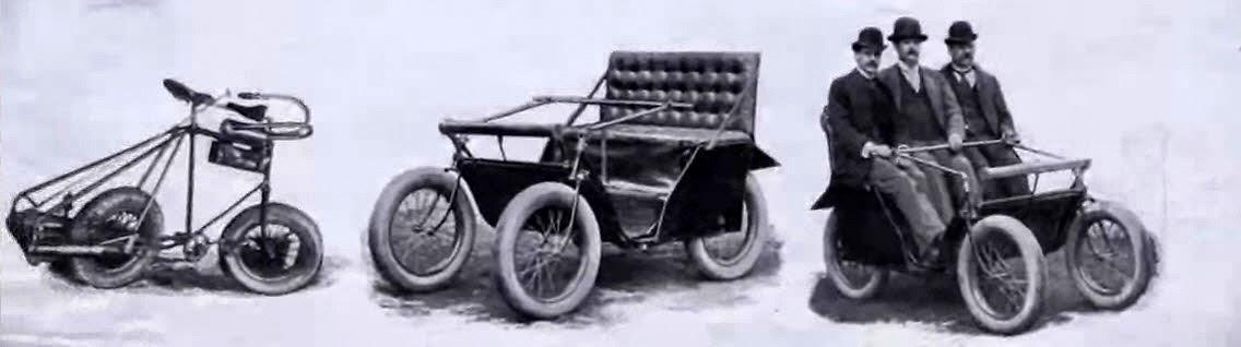 The Victoria, a Kane-Pennington Motor quadricycle