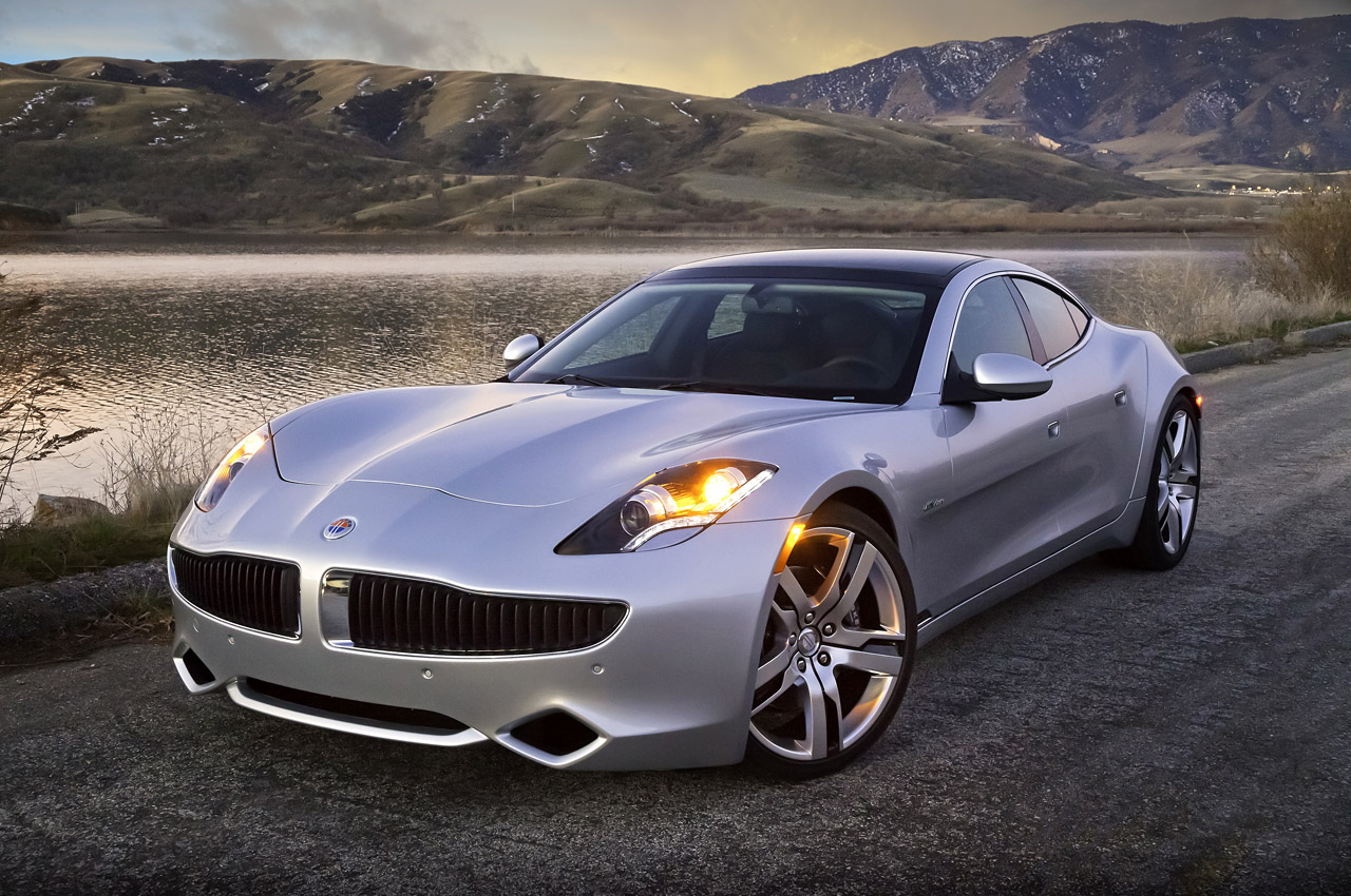 Luxury Vehicle: New Car Design: ELEGANT AND LUXURY CAR Fisker Karma (2012
