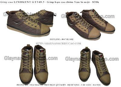 Giày nam đẹp GT249. 5