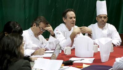 The Judging process at the Bocuse d'Or can continue throughout the night