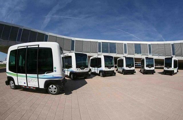 gambar armada bus wepod EZ10