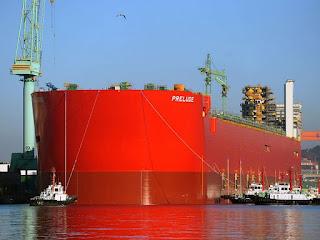 kapal FLNG PRELUDE