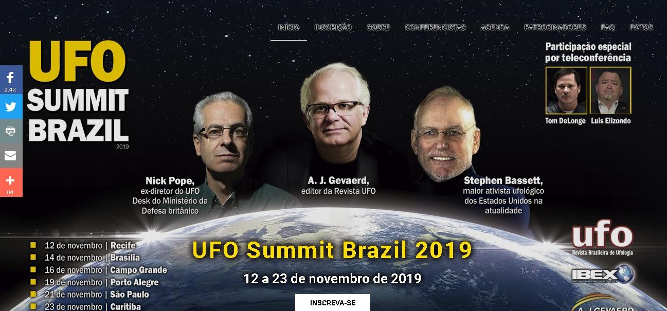 UFO SUMMIT BRAZIL 2019
