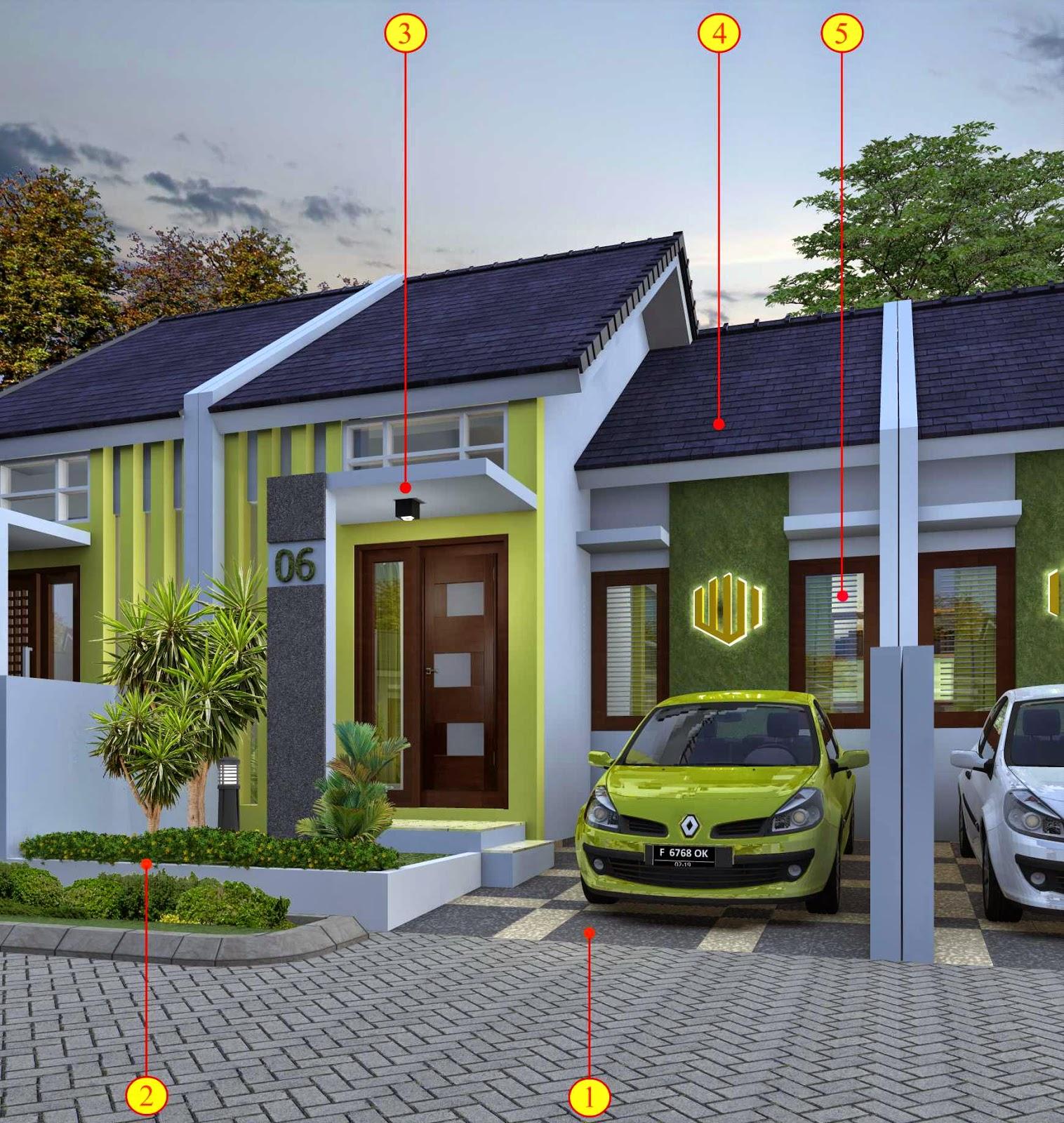 Gambar di atas memperlihatkan bagian t&ak depan dari rumah minimalis type 45 yang akan kami rancang untuk perumahan di Bogor. & Jasa Desain Arsitektur Rumah Minimalis Hubungi 082.33333.9949 ...