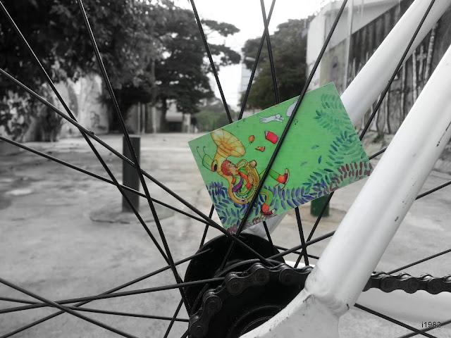 fixie cards, fixed gear inside at Vila Madalena