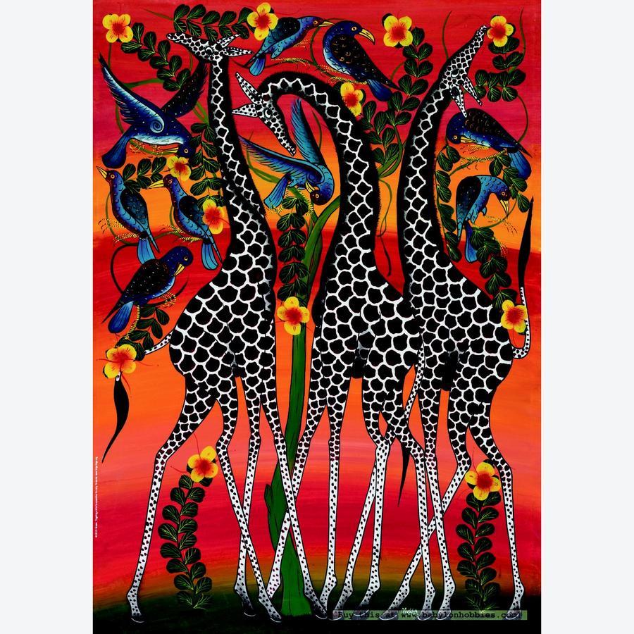 Alegr Color Tingatinga Arte Africano